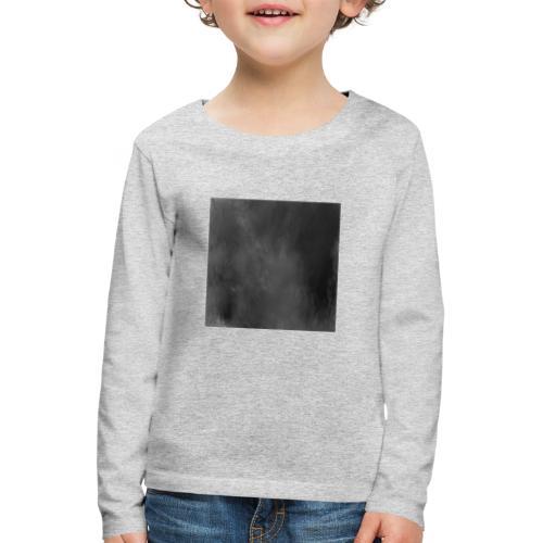 Das schwarze Quadrat | Malevich - Kinder Premium Langarmshirt