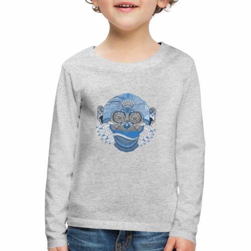 Affe - Kinder Premium Langarmshirt
