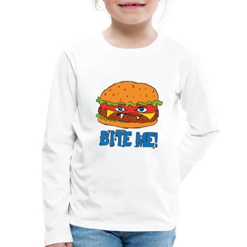 Bite me! - Maglietta Premium a manica lunga per bambini