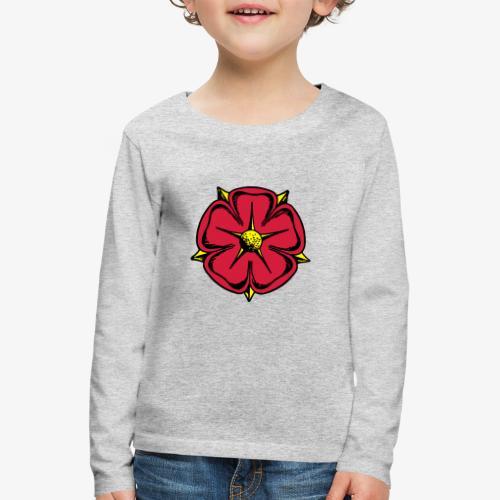 Lippische Rose - Kinder Premium Langarmshirt