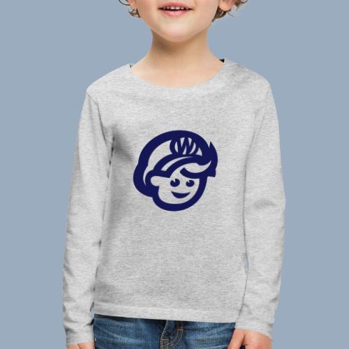 logo bb spreadshirt bb kopfonly - Kinder Premium Langarmshirt