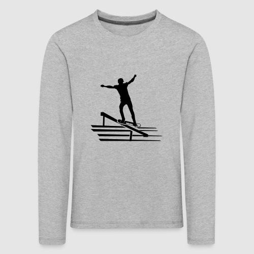 Skateboard - Kinder Premium Langarmshirt