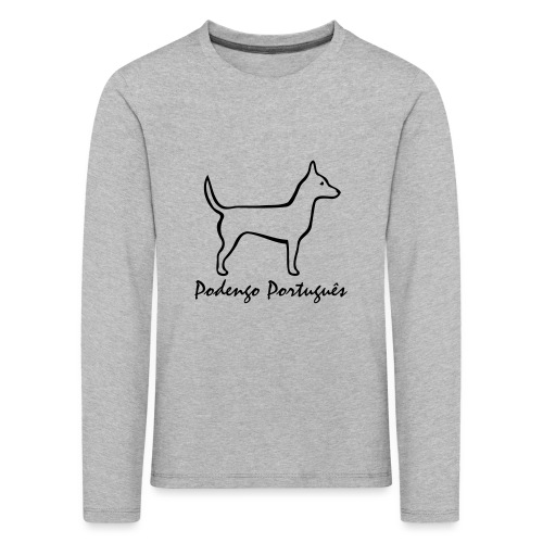 Podengo Português - Kinder Premium Langarmshirt