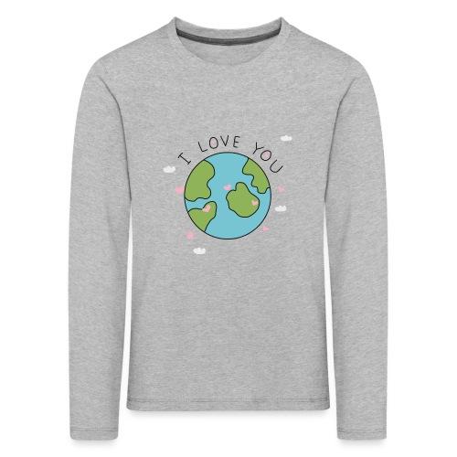iloveyou - Maglietta Premium a manica lunga per bambini