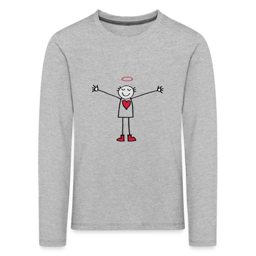Hug - Kinder Premium Langarmshirt