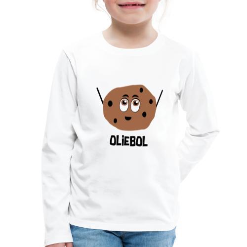 Oliebol - Kinderen Premium shirt met lange mouwen