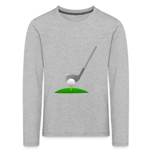 Golf Ball PNG - Camiseta de manga larga premium niño