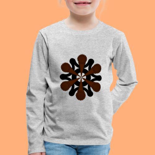 vortex - T-shirt manches longues Premium Enfant
