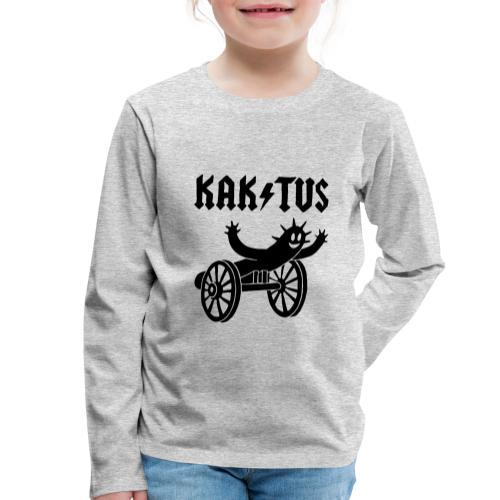 Kaktus Rock - Kinder Premium Langarmshirt