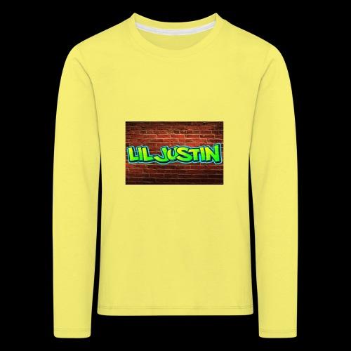 Lil Justin - Kids' Premium Longsleeve Shirt