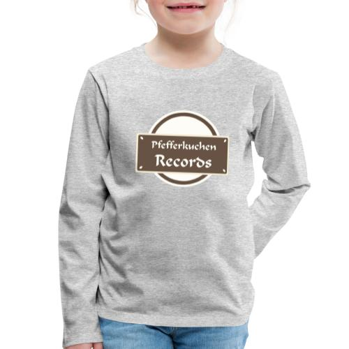 Pfefferkuchen Records Label - Kinder Premium Langarmshirt