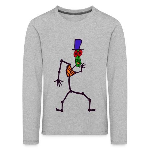 Kib Kool - Børne premium T-shirt med lange ærmer