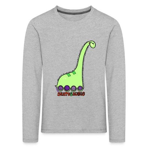 Skatosaurus - Camiseta de manga larga premium niño
