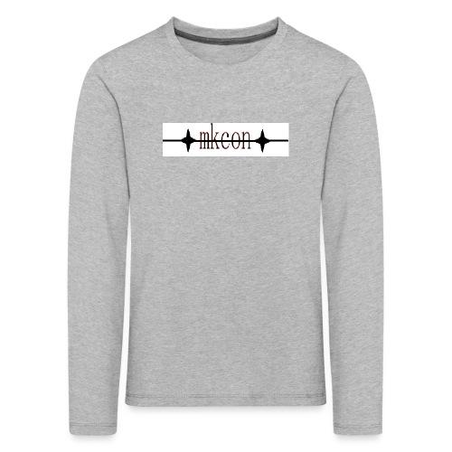 mkcon - Lasten premium pitkähihainen t-paita