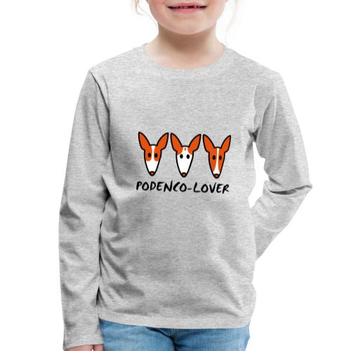 Podenco-Lover - Kinder Premium Langarmshirt