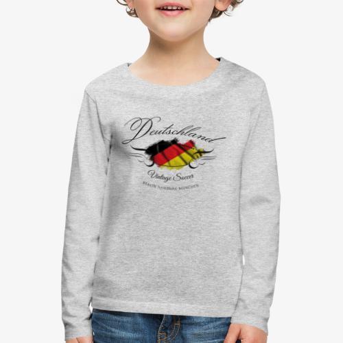 Vintage Deutschland - Kinder Premium Langarmshirt
