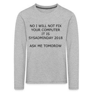 fixpc - Kids' Premium Longsleeve Shirt