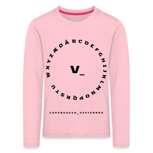 Vesterbro - Børne premium T-shirt med lange ærmer