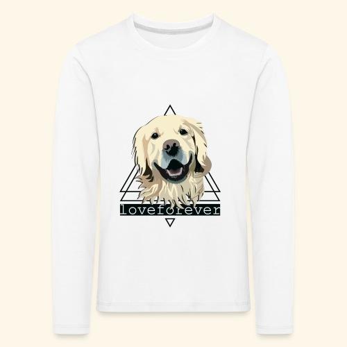 RETRIEVER LOVE FOREVER - Camiseta de manga larga premium niño