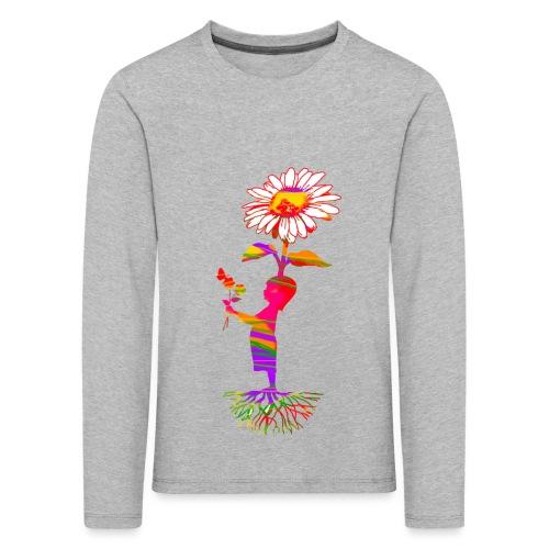bloemenkind - Kinderen Premium shirt met lange mouwen