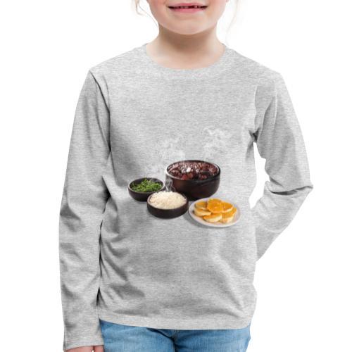 Feijoada - Kids' Premium Longsleeve Shirt
