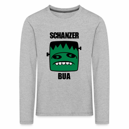 Fonster Schanzer Bua - Kinder Premium Langarmshirt