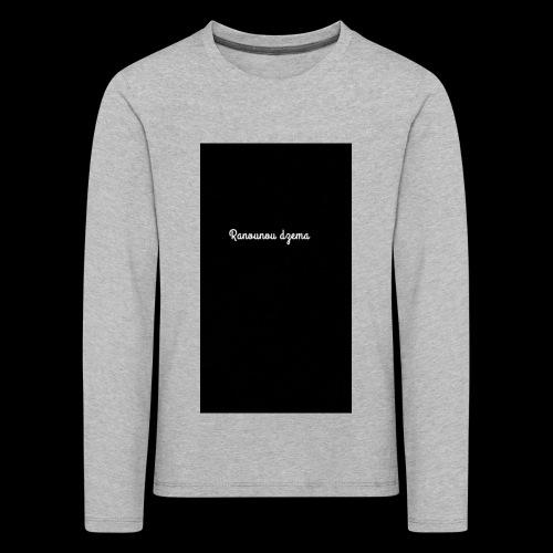 Body design Ranounou dezma - T-shirt manches longues Premium Enfant