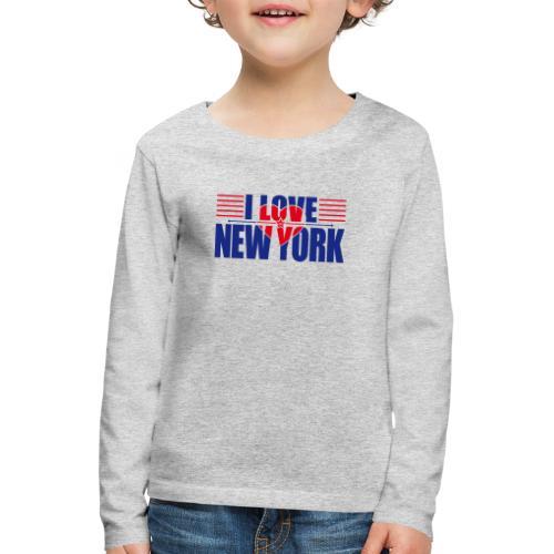 love new york - T-shirt manches longues Premium Enfant
