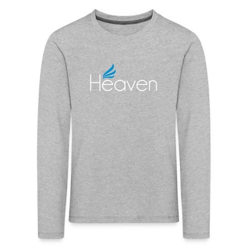 Heaven svart - Långärmad premium-T-shirt barn