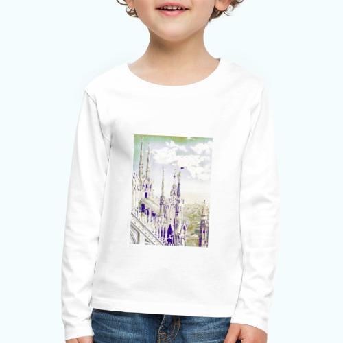 Mailand Vintage Reise Poster - Kids' Premium Longsleeve Shirt