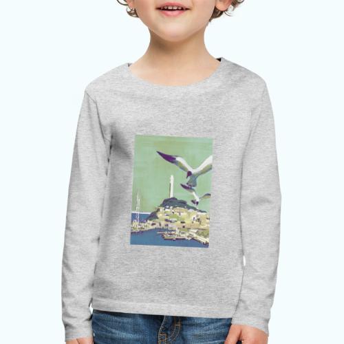 San Francisco Vintage Travel Poster - Kids' Premium Longsleeve Shirt