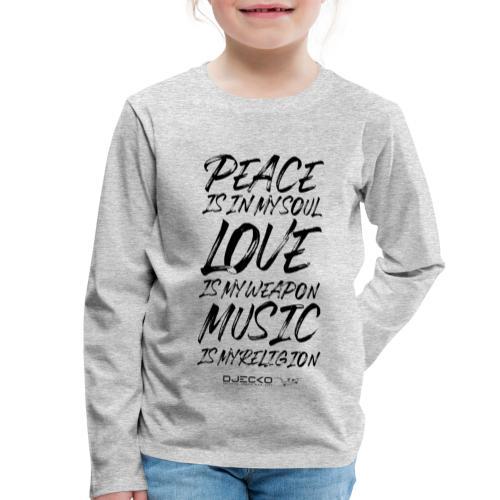 Djecko blk - T-shirt manches longues Premium Enfant