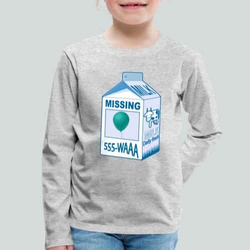 Missing : balloon - T-shirt manches longues Premium Enfant