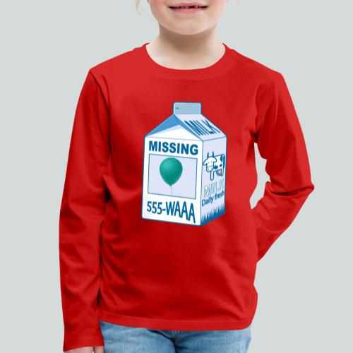 Missing : balloon - T-shirt manches longues Premium Enfant