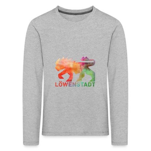 Löwenstadt Design 5 - Kinder Premium Langarmshirt