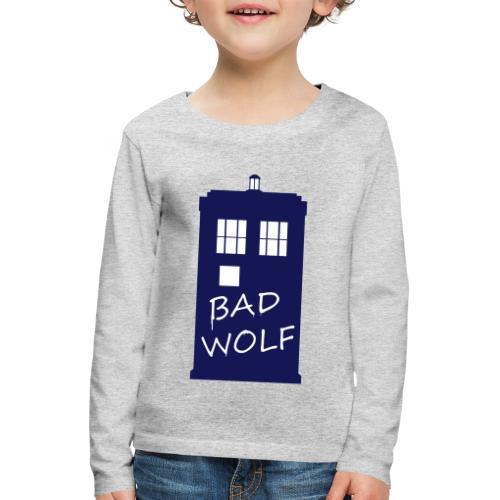 Bad Wolf Tardis - T-shirt manches longues Premium Enfant