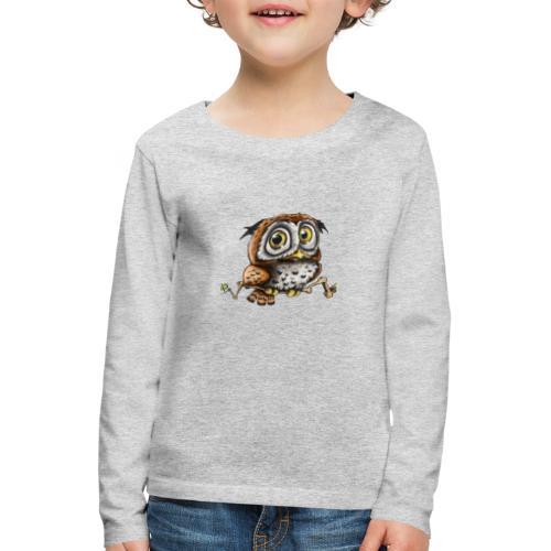 Kleine Eule - Kinder Premium Langarmshirt