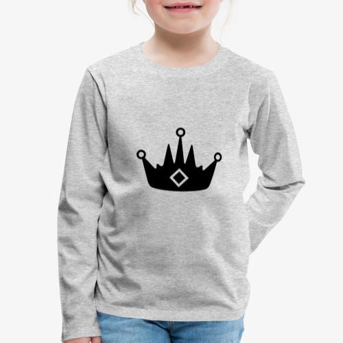 CORONA DELL'ABBIGLIAMENTO - Maglietta Premium a manica lunga per bambini