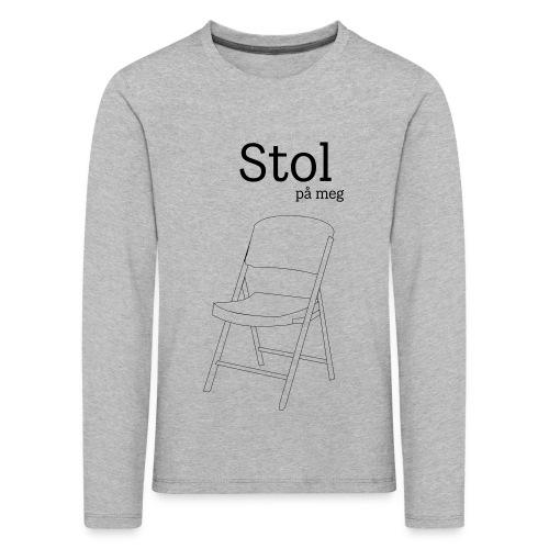 Stol på meg - Premium langermet T-skjorte for barn