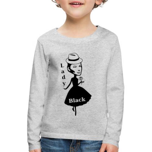 Lady Black - Kinder Premium Langarmshirt