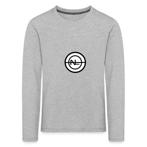 Nash png - Børne premium T-shirt med lange ærmer