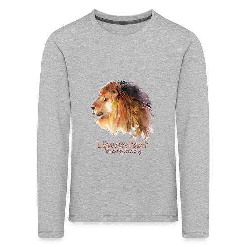 Löwenstadt Design 10 - Kinder Premium Langarmshirt