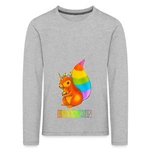 Einhörnchen - Kinder Premium Langarmshirt
