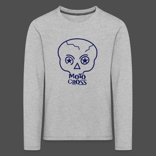 MX Skull No.5 - Koszulka dziecięca Premium z długim rękawem