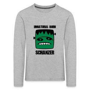 Fonster unnatural born Schanzer - Kinder Premium Langarmshirt