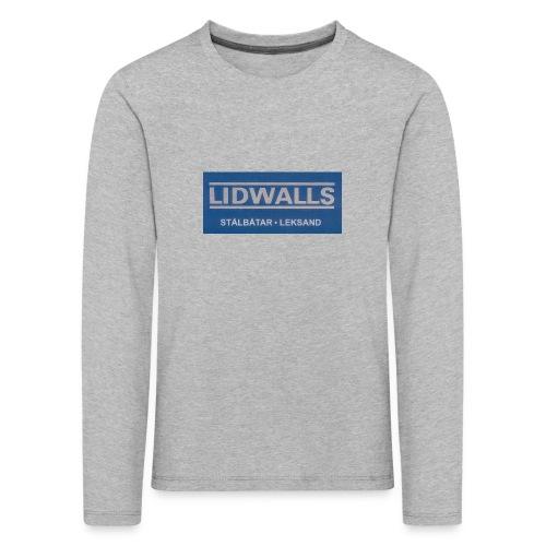 Lidwalls Stålbåtar - Långärmad premium-T-shirt barn
