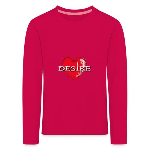 Desire Nightclub - Kids' Premium Longsleeve Shirt