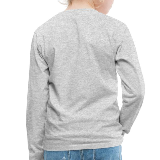 Vorschau: ana vo uns zwa is bleda ois i - Kinder Premium Langarmshirt