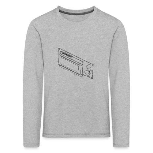 2004LCD (no text). - Kids' Premium Longsleeve Shirt