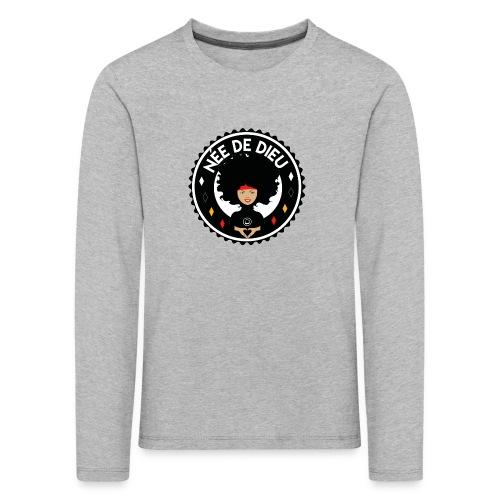 Née de Dieu - T-shirt manches longues Premium Enfant